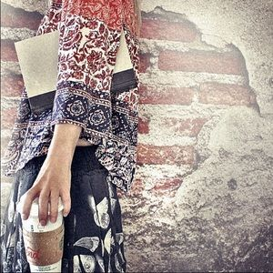 free people butterfly skirt